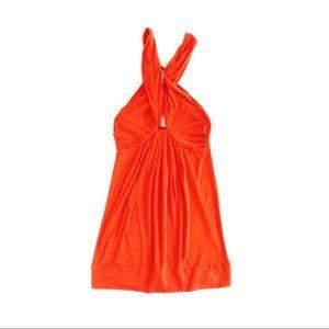 DVF Tangerine Tonga Jersey Dress